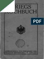 Kriegskochbuch 1915
