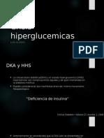 Crisis Hiperglucemicas