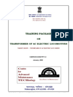 Training Package on Transformer of AC Electric Locomotive(1)