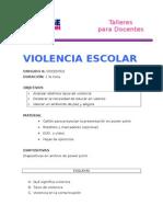 Violencia escolar actualizada