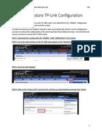 20141103 Manual Tplink Restore Config V01