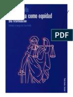5. John Rawls Ideas Fundamentales La Justicia Como Equidad Una Reformulación