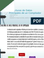 Estructura de Datos Principales de Un Compilador