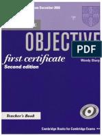 Objective English Teacher