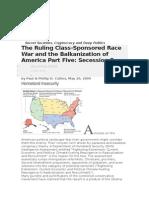 Balkanization of America Part Five Secession Fever