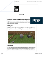 Gates and how to build them