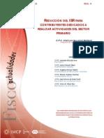 4. REDUCCIÓN DEL ISR PARA CONTRIBUYENTES DEDICADOS A REALIZAR ACTIVIDADES DEL SECTOR PRIMARIO