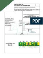 CONSTRUÇÃO DE EDIFÍCIO EM ALVENARIA DE UNIDADE BÁSICA DE SAÚDE
