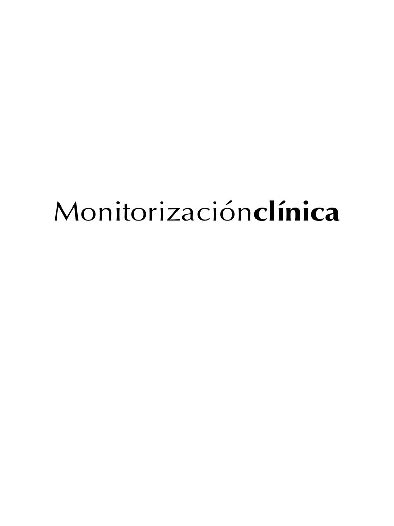 Monitorizacion Clinica