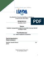 Analisis Comparativo de La Ley 659 y 136-03