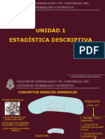 Estadistica descriptiva