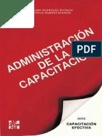 Administración de La Capacitación - Rodríguez Estrada, Mauro