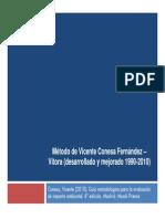 Metodo de Vicente Conesa