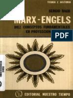 Marx Engels Diez Concept Os