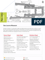 Louvre Plan Information Deutsch