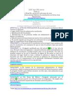 LEY 640 DE 2001 PDF