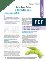 Terapia Herbal en Menospausia