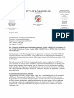 Los Angeles Department of City Planning 710 DEIR Comment Letter FINAL 2015-08-05