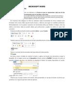 Microsoft Word Texto