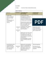 Planificación Didáctica 2014 Psico