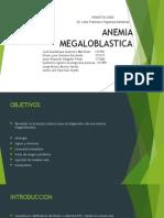 Anemia Megaloblastica f
