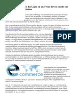 Création Boutique En Ligne ce que vous devez savoir sur le Marketing d'affiliation