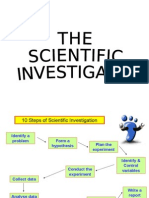 The Scientific Investigation