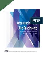 Organizaciones de Alto Rendimiento