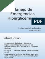 Manejo de Emergencias Hiperglicémicas