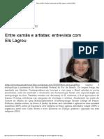 Entre Xamãs e Artistas_ Entrevista Com Els Lagrou _ Revista USINA