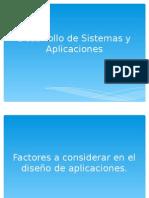 desarrollo de sistemas y aplicaciones