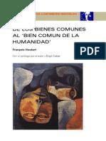 François Houtart _De Los Bienes Comunes Al Bien Común de La Humanidad