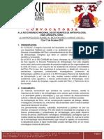 Convocatoria a La Xxii Congreso Nacional de Estudiantes de Antropología