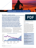 Market Uppdte Oil Gas 2015 02 February
