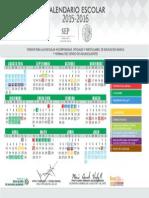 Calendario Escolar 15-19 Ags