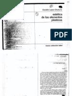 17 - López Chuhurra - Estética de Los Elementos Plásticos