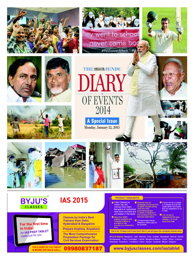 the hindu diary of events 2014 2015 indian national congress