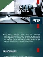 Historia Clinica en Odontologia