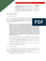 Contrato de Comision Mercantil u