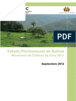 Bolivia Coca Survey 2011