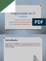 Linguagem C - Funções (Danilo Giacobo)