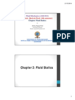 Fluid Statics-By a R Paul