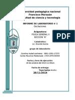 Informe _1fisica II Oscilaciones