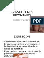 Convulsion NEONATALES