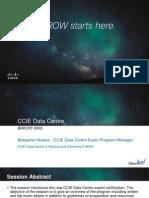 CCIE DC Overview