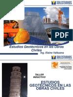 Estudios Geotécnicos en Obras Civiles (Elaine Valbuena)