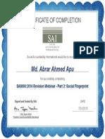 SA8000 Webinar Part-2