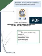 IDENTIFICACIÓN Y COMPORTAMIENTO DE COMPUESTOS POLARES, APOLARES Y ANFIPÁTICOS