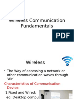 Wireless Communication Fundamentals