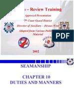 Seamanship Ch. 10